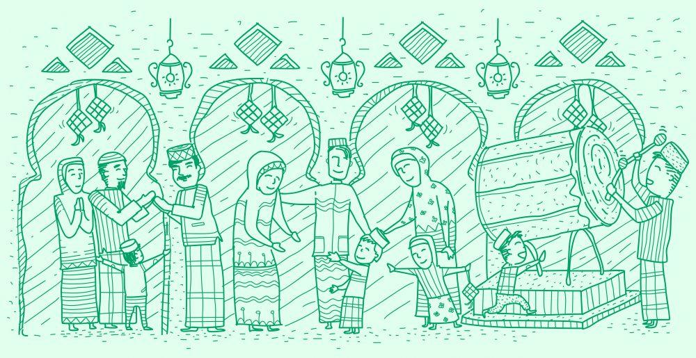 6 Tradisi Lebaran ala Generasi 90-an Ini Bikin Kangen Masa Kecil