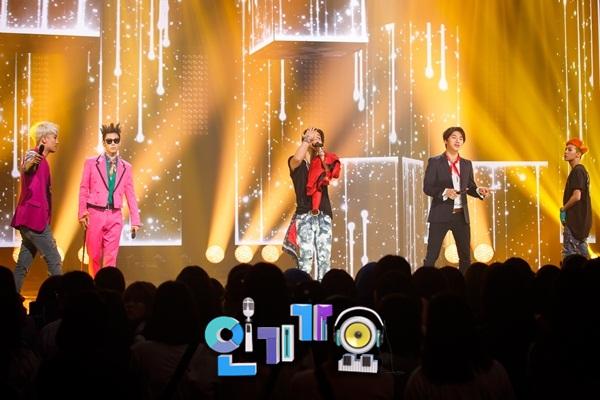 bigbang di SBS Inkigayo