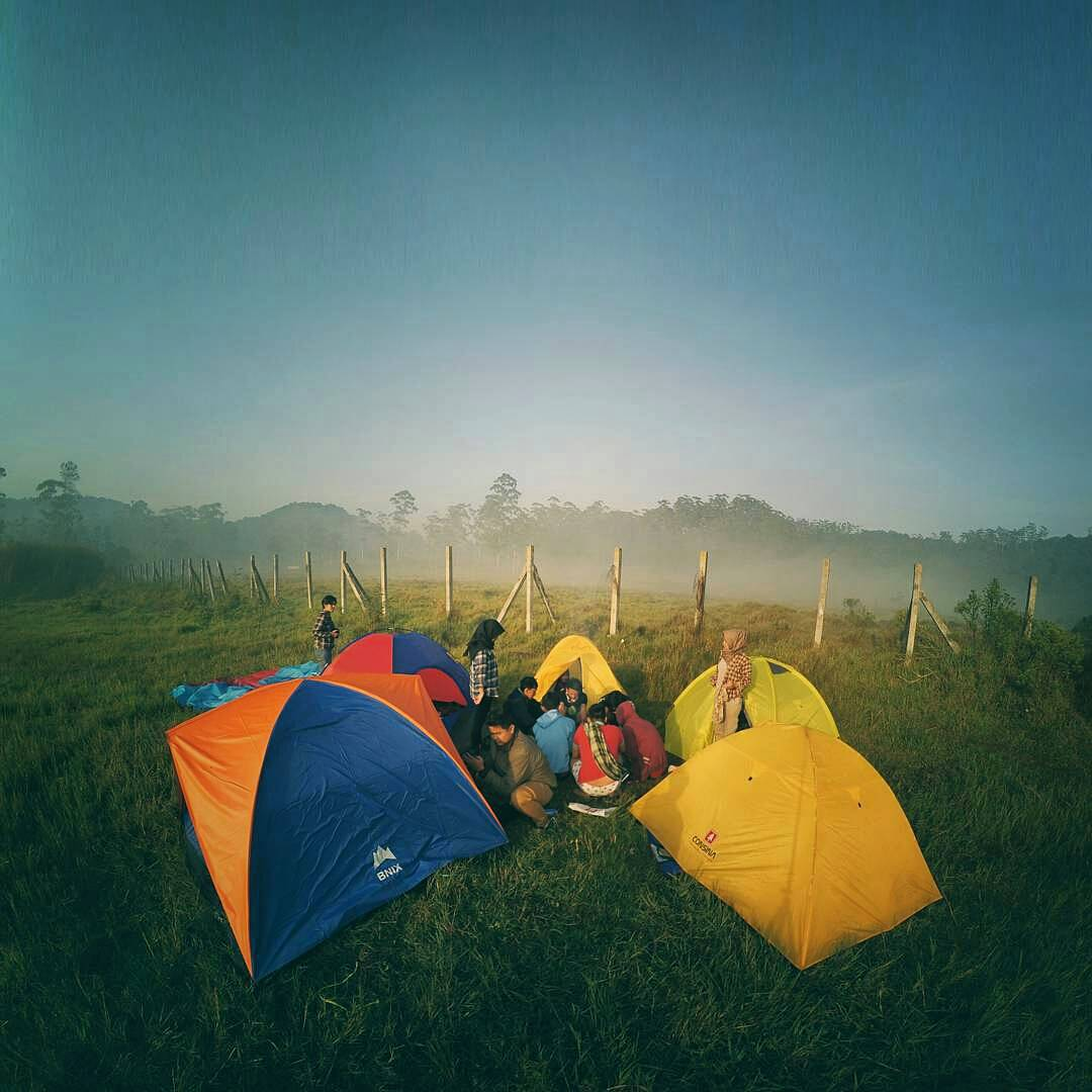 Camping Seru, di Bumi Perkemahan Rancaupas Bandung!