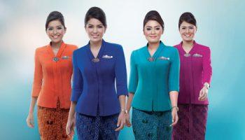 warna-baju-yang-dipakai-pramugari-garuda-indonesia-dari-kiri-orange-cobalt-blue-tosca-purple