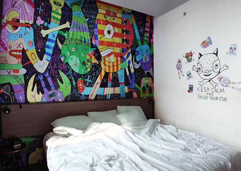 Hotel Unik Bertema Street Art di Jakarta