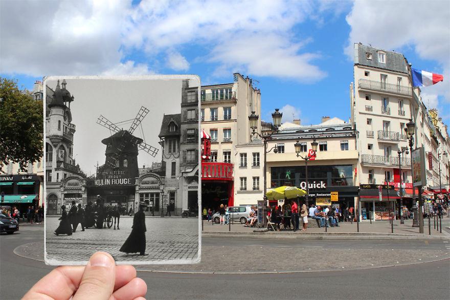 Tanpa Photoshop, 16 Foto Kuno Kombinasi Ini Tampak Sangat Nyata