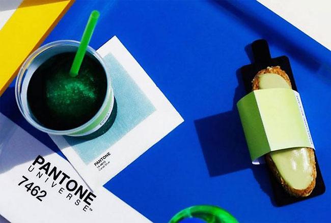 Pantone Cafe Sajikan Makanan Penuh Warna