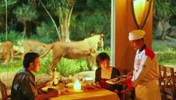 Restoran singa di Bali