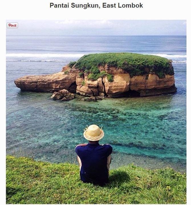pantai-sungkun-lombok-timur