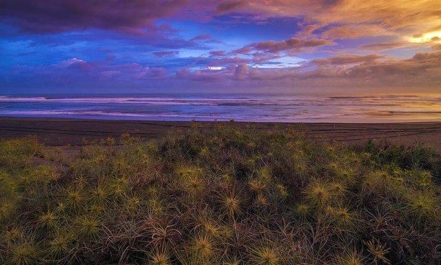 Senja di Pantai Parangkusumo