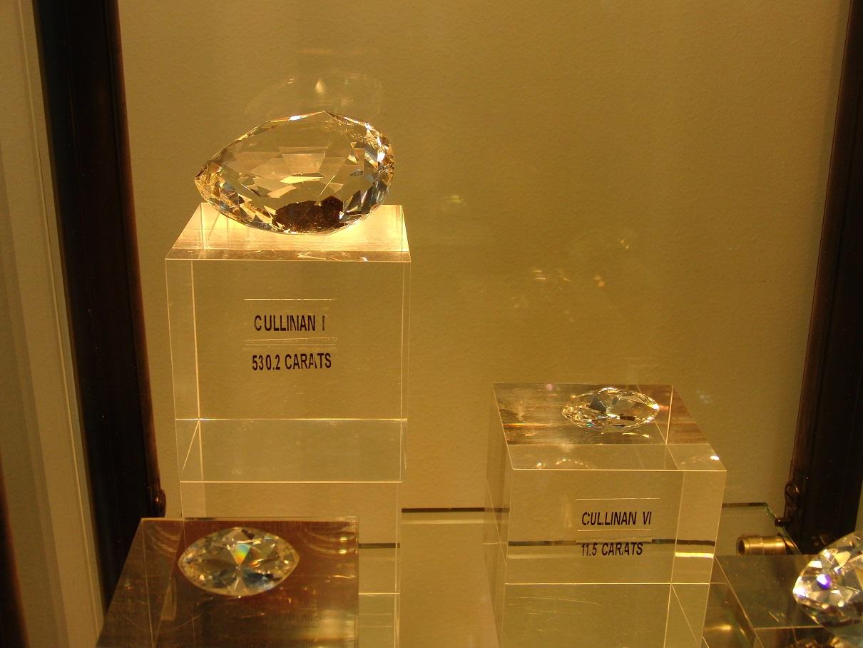 Berlian tiruan yang dipamerkan di Coster Diamond (dok:pribadi)