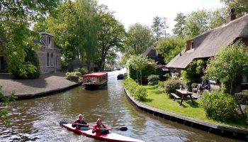 Giethoorn, Desa Tanpa Polusi Kendaraan Bermotor
