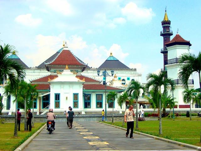 Masjid Agung Palembang - Tahun 2009