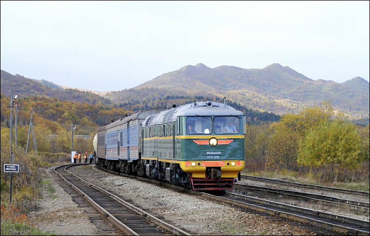 Sakhalin railway