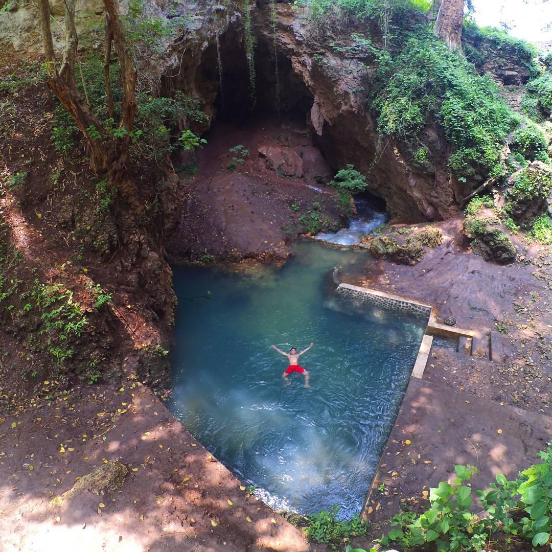 Mata Air Biru Sri Mulih Gunung Kidul IG @khusnulsidik