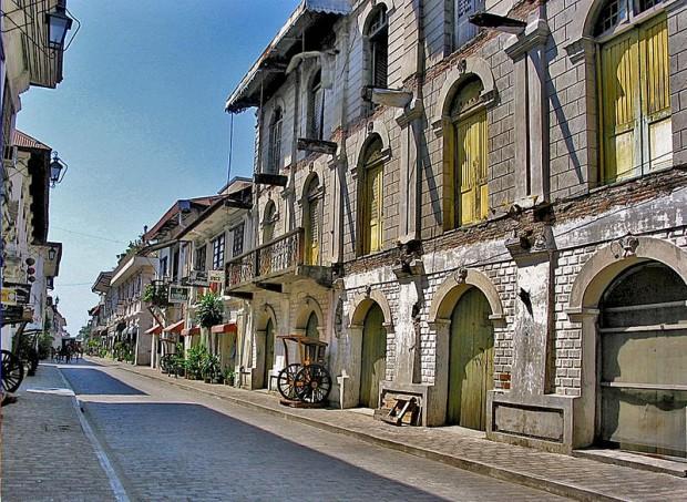 Vigan , kota heritage di Filipina