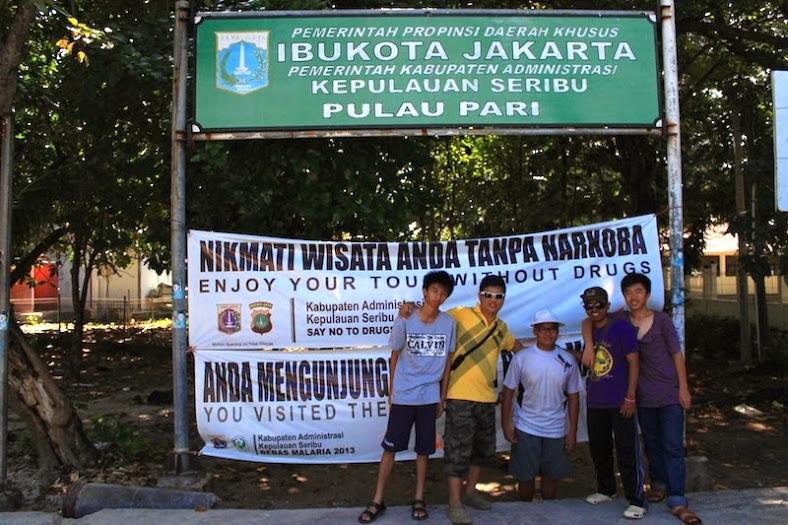 Selamat datang di Pulau Pari Kep. Seribu[Image: dzulfikaralala.com]