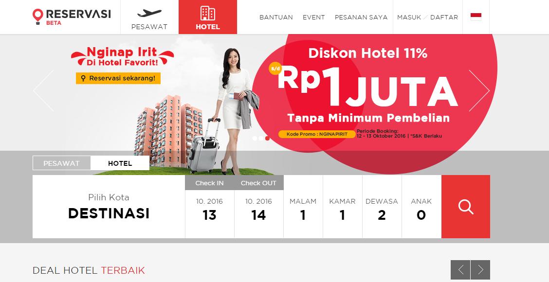reservasi.com hotel