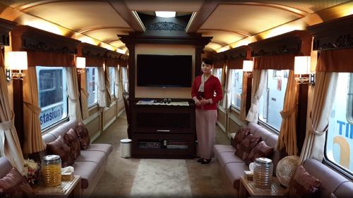 Mewahnya Kereta Kepresidenan RI ini