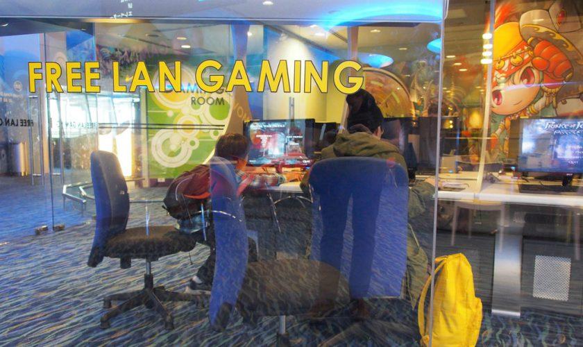 fasilitas gratis di changi airport