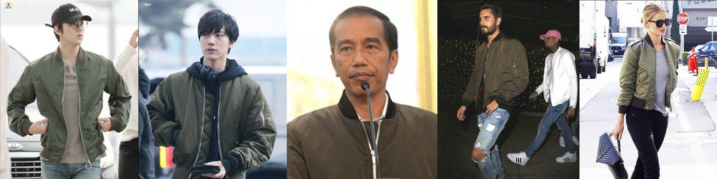 Menyoroti Jaket Bomber Jokowi dari Seluruh Dunia