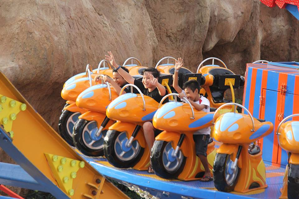 Flying Cakra - Sumber Facebook Krisna Funtastic Land