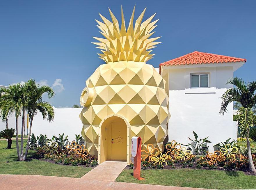 Keren! Hotel Rumah Spongebob Kini Hadir di Dunia Nyata