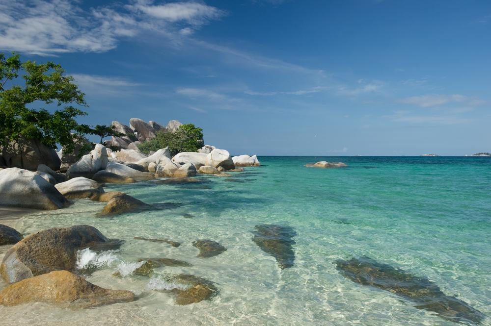 Pantai Cantik nan Indah di Kampung Halaman Ahok