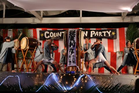 New Year countdown & Japan's earliest beach opening ceremony, sumber gambar: gotokyo.org