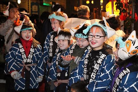 Oji Kitsune-no-gyorets Fox Parade