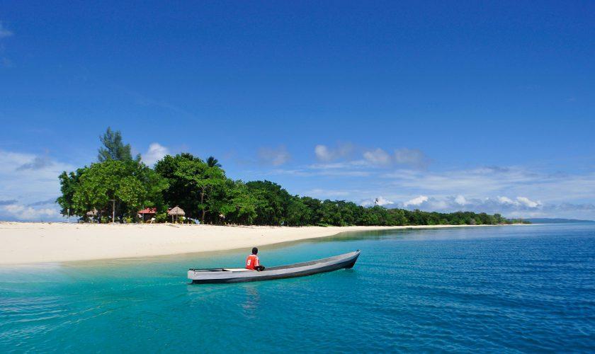 keindahan pulau morotai di maluku utara