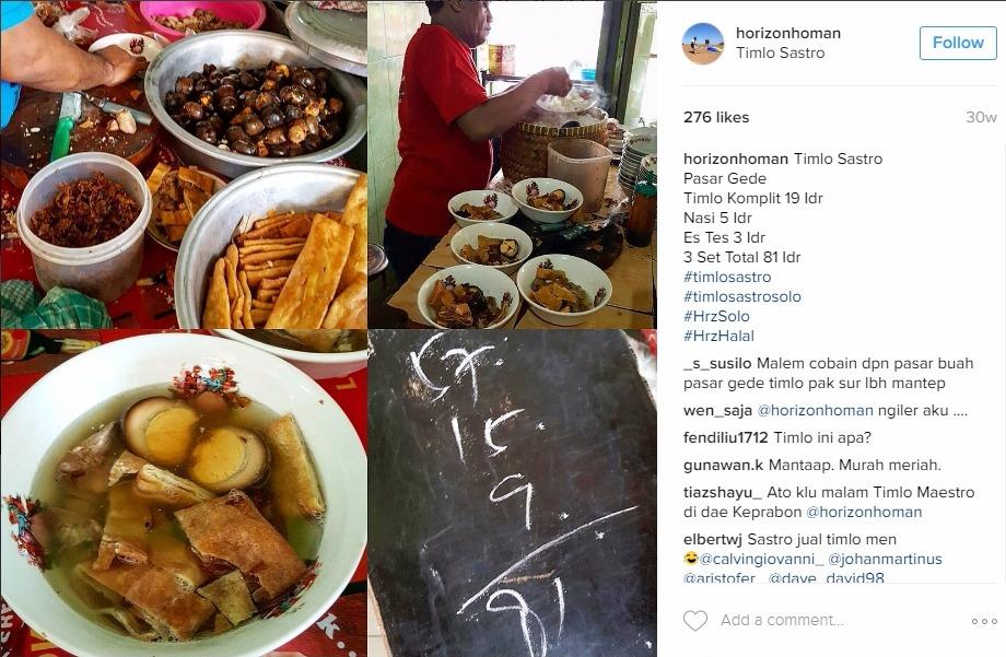 34 Tempat Wisata Kuliner Solo yang Enak dan Murah ...