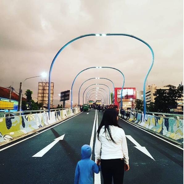 Jembatan Antapani Bandung Paling Artsy Se-Indonesia