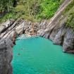 Danau biru sanghyang heuleut Bandung