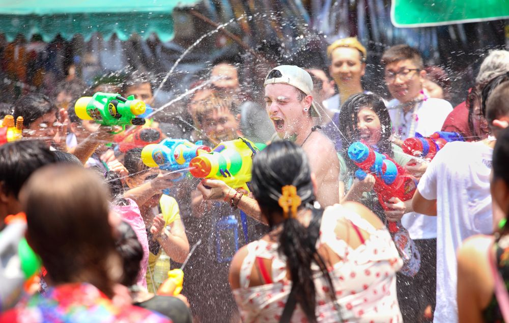 Festival Perang Air Selatpanjang Riau Jadi Event Tahunan Imlek yang Selalu Dinanti