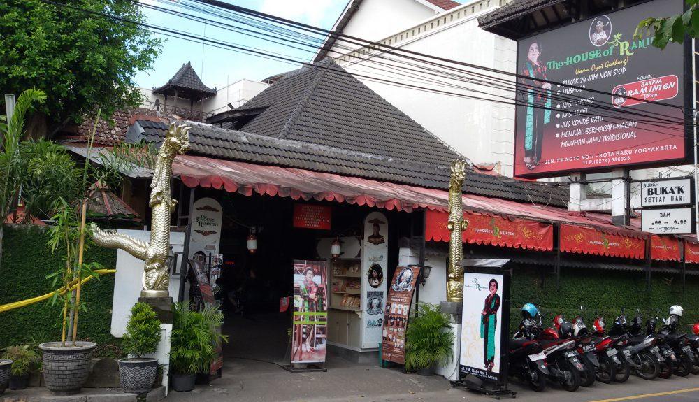 wisata kuliner Jogja di Restoran unik