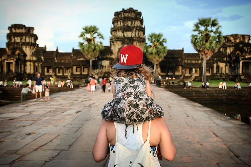 traveling bersama anak keliling dunia