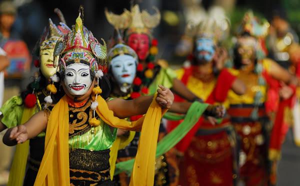 Kampung Topeng Malang, Wisata Baru yang Langsung Jadi Favorit