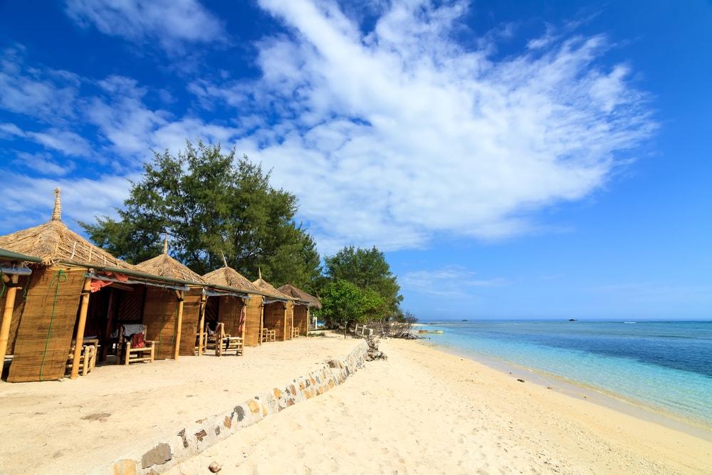 Pantai Indonesia Gili Meno