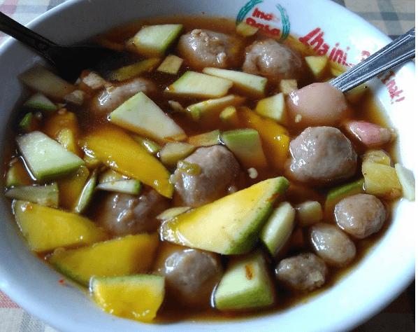 Bakso Rujak, Kuliner Unik yang Rasanya Menggoda Selera