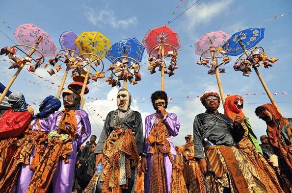 Jelajah Budaya di Festival Krakatau Lampung 2017
