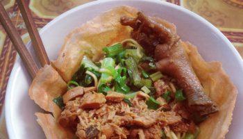 mie ayam mangkuk