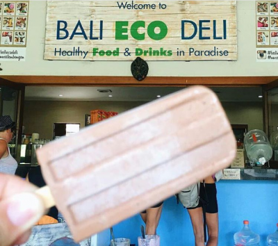 Cafe Unik Ramah Lingkungan di Bali Eco Deli Nusa Lembongan
