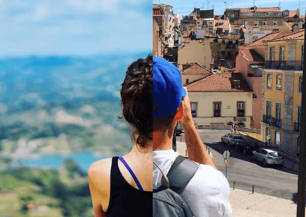 Melalui Proyek Foto, Pasangan Traveler Ini Buktikan LDR Tak Jadi Halangan