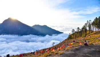 tarif pendakian gunung rinjani