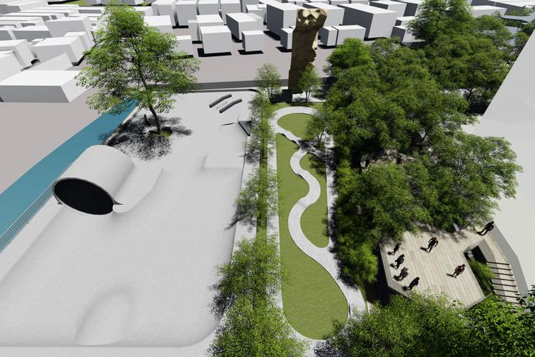 TBS Park, Taman Baru yang Lebih Lengkap Dibandingkan Taman Kalijodo