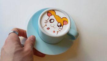 latte art korea