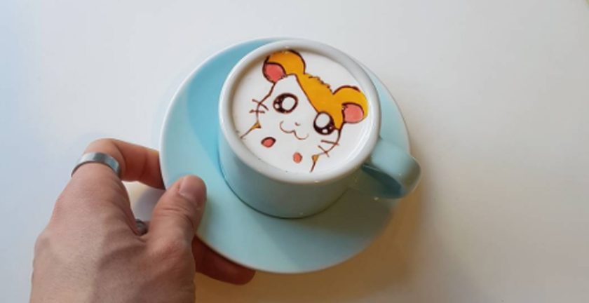 latte art korea