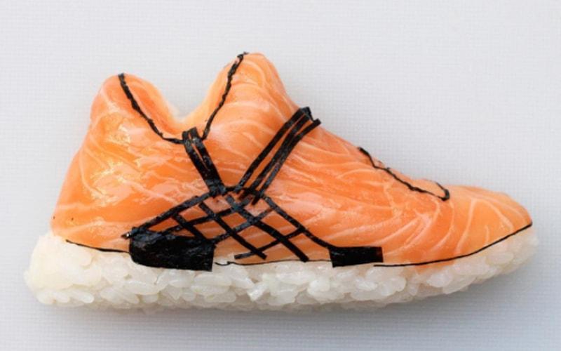 Shoe-shi, Sushi Unik Berbentuk Sepatu yang Hits di Media Sosial
