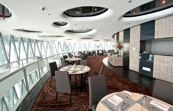 restoran paling tinggi