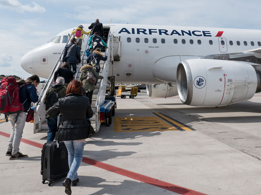 Tampar Petugas Bandara, Mahasiswi S3 asal China Diblokir Maskapai Air France