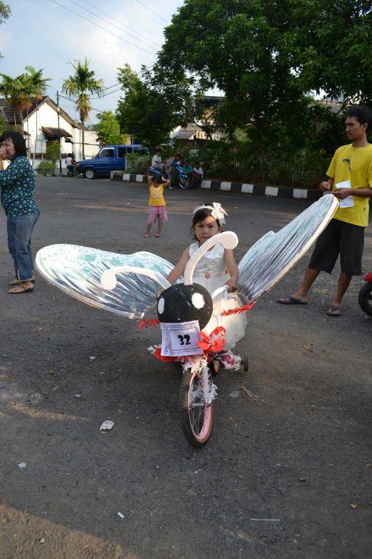 16 Sepeda Hias Agustusan yang Unik dan Kreatif - Reservasi