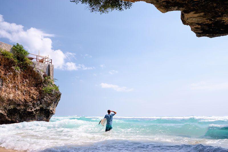 Pantai Uluwatu, Badung, Bali