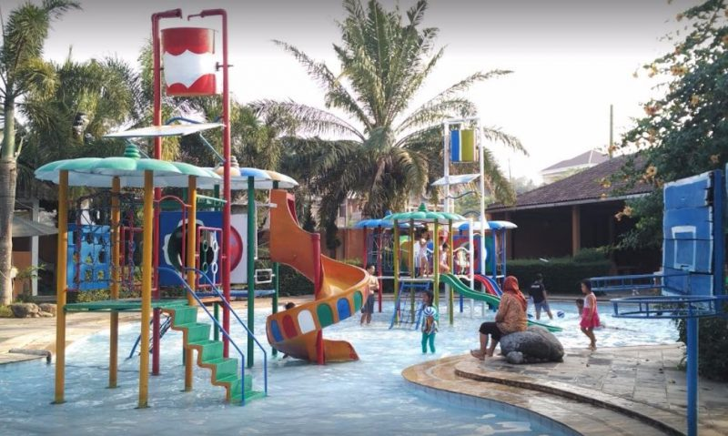 Wisata air Semarang The Fountain Water Park